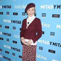Silvia Tortosa en el estreno de 'Mitad y mitad'