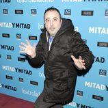 Carlos Areces en el estreno de 'Mitad y mitad'