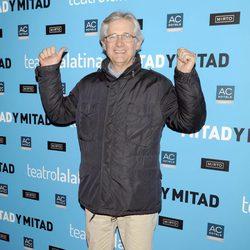 Josema Yuste en el estreno de 'Mitad y mitad'