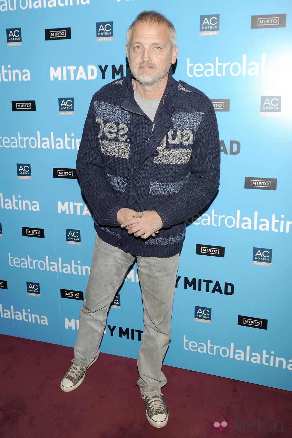 Jordi Rebellón en el estreno de 'Mitad y mitad'