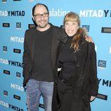 Jordi Sánchez y Nathalie Seseña en el estreno de 'Mitad y mitad'