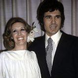 Concha Velasco y Paco Marsó el día de su boda