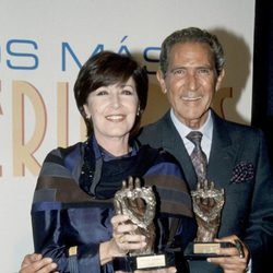 Concha Velasco y Antonio Gala