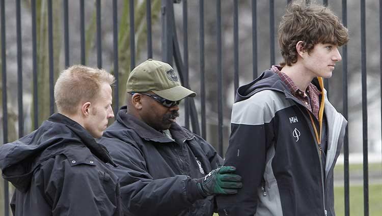 Conor Kennedy arrestado en las puertas de la Casa Blanca