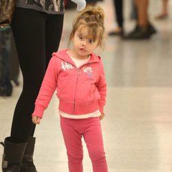 Carla Moyá Cerezuela en el aeropuerto