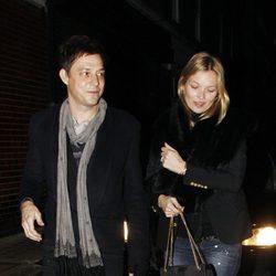 Kate Moss y Jamie Hince salen a cenar por San Valentín