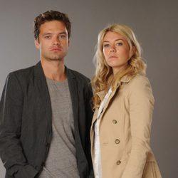Sebastian Stan y Vanessa Kirby de la miniserie 'El Laberinto'