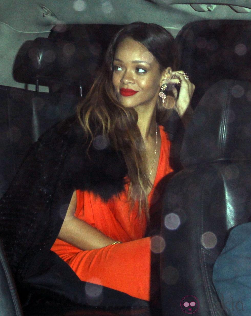 Rihanna el Día de San Valentín 2013
