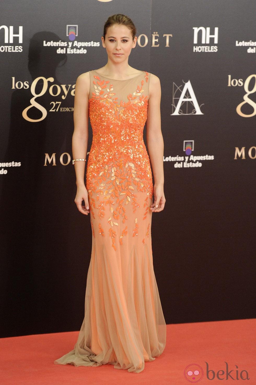Irene Escolar en los Premios Goya 2013