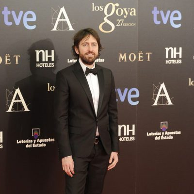 Daniel Sánchez Arévalo en la alfombra roja de los Goya 2013