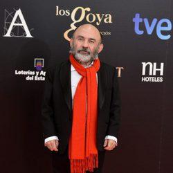 Emilio Gavira en la alfombra roja de los Goya 2013