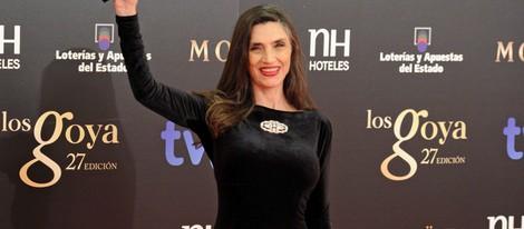 Ángela Molina en los Goya 2013