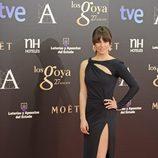 Blanca Suárez en la alfombra roja de los Goya 2013