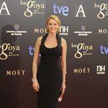 Belén Rueda en la alfombra roja de los Premios Goya 2013