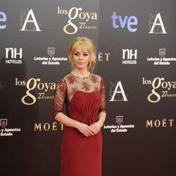 María Adánez en los Goya 2013