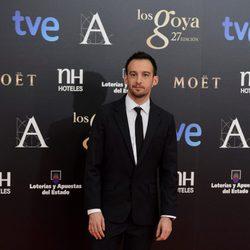 Alejandro Amenábar en los Premios Goya 2013