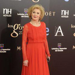 Marisa Paredes en los Goya 2013