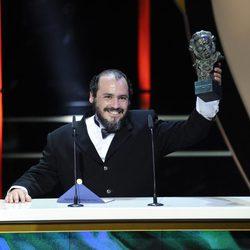 Joaquín Nuñez recoge el Goya al Actor Revelación