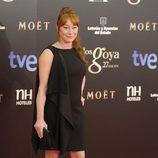 Gracia Querejeta en la alfombra roja de los Goya 2013