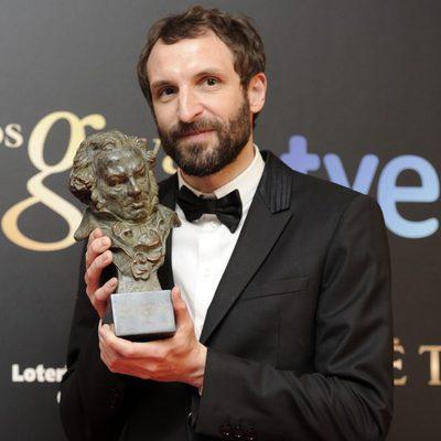 Julián Villagrán, con su Goya al Mejor Actor de Reparto 2013