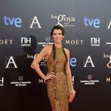 Natasha Yarovenko en la alfombra roja de los Goya 2013