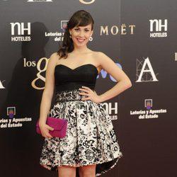 Alba García en los Premios Goya 2013