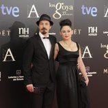 Fele Martínez en la alfombra roja de los Goya 2013