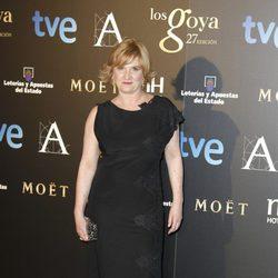 Ana Wagener en la fiesta posterior a los Premios Goya 2013