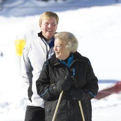 Guillermo y Beatriz de Holanda en sus vacaciones de invierno en Austria