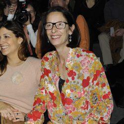 Paola Dominguín en el desfile de Francis Montesinos en Madrid Fashion Week otoño/invierno 2013/2014