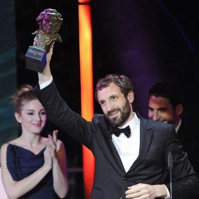 Julián Villagrán recoge el Goya 2013 a Mejor Actor de Reparto