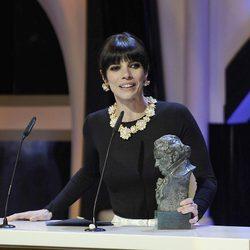 Maribel Verdú recoge el Goya 2013 a la Mejor Actriz Protagonista