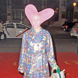 Ágatha Ruiz de la Prada en la fiesta de máscaras de Yo Dona