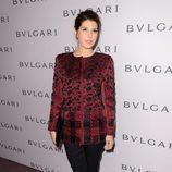 Marisa Tomei en una fiesta-homenaje de Bulgari a Elizabeth Taylor