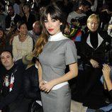 Blanca Suárez en el desfile de Davidelfin en Madrid Fashion Week otoño/invierno 2013/2014