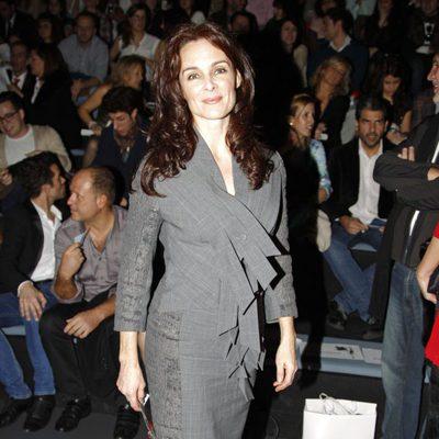 Silvia Marsó en el desfile de Devota & Lomba en Madrid Fashion Week otoño/invierno 2013/2014
