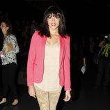 Raquel del Rosario en el desfile de TCN en la Madrid Fashion Week otoño/invierno 2013/2014