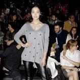 Ana Rujas durante un desfile en la Madrid Fashion Week otoño/invierno 2013/2014