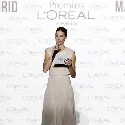 Laura Sánchez presenta el Premio L'Oreal de Madrid Fashion Week otoño/invierno 2013/2014