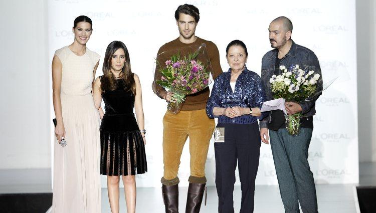 Antonio Navas y Juan Duyos, ganadores del Premio L'Oreal Madrid Fashion Week otoño/invierno 2013/2014