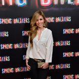 Natalia en el estreno de 'Spring Breakers' en Madrid