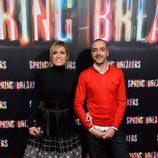 Luján Argüelles en el estreno de 'Spring Breakers' en Madrid