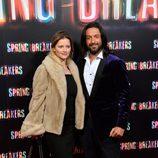 Rafael Amargo en el estreno de 'Spring Breakers' en Madrid