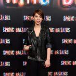 Cristina Brondo en el estreno de 'Spring Breakers' en Madrid