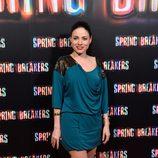 Ana Arias en el estreno de 'Spring Breakers' en Madrid