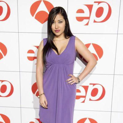 Giselle Calderón en los Premios Espejo Público 2012