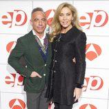 Joaquín Torres y Norma Duval en los Premios Espejo Público 2012