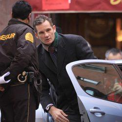 Iñaki Urdangarín a su salida del coche en su segunda comparecencia como imputado