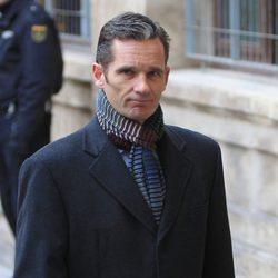 Iñaki Urdangarín entra a declarar a pie en su segunda comparecencia