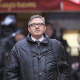 Carlos García Revenga a su llegada al juzgado